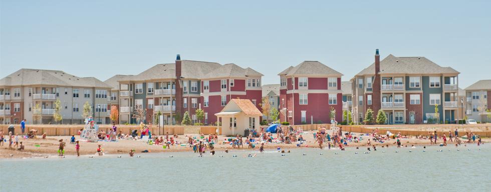 Saxony Lake Beach